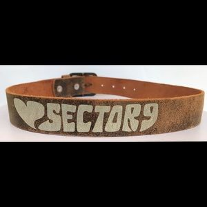 Sector 9 leather belt